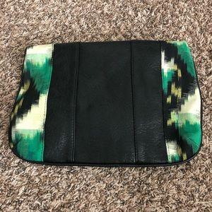 Bags - Women's larger okay print clutch
